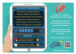 Level Up card