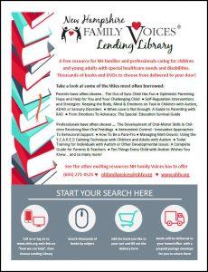 NHFV Lending Library Flyer