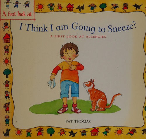 Book Cover, I Think I Am Going To Sneeze