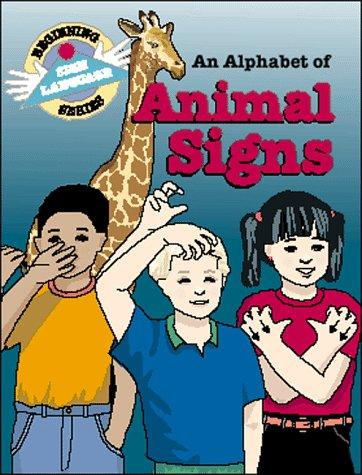 Book Cover, An Alphabet Of Animal Signs