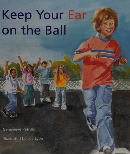 Book Cover, Keep Your Ear On The Ball
