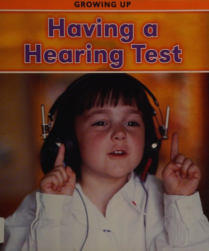Book Cover, Having A Hearing Test