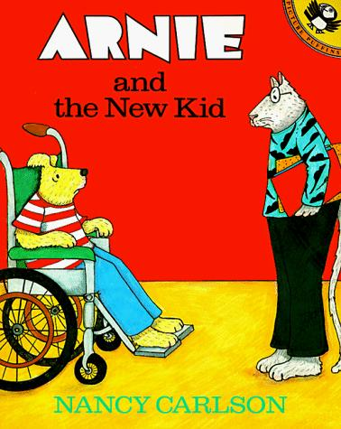 Book Cover, Arnie And The New Kid