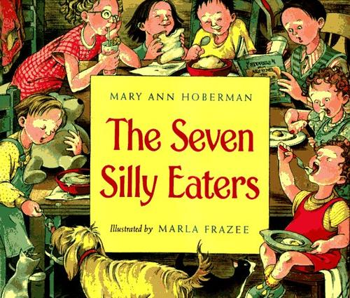 Book Cover, The Seven Silly Eaters