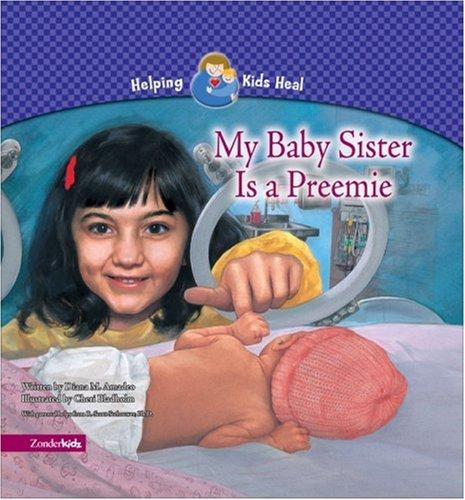 Book Cover, My Baby Sister Is A Preemie