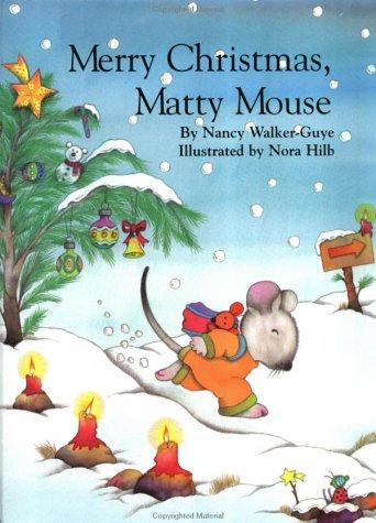 Book Cover, Mattie The Mouse