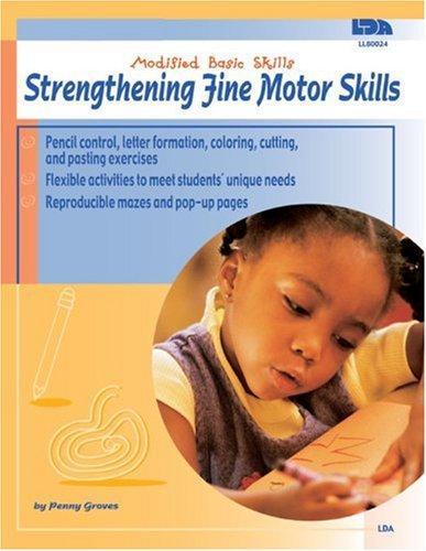Book Cover, Strengthening Fine Motor Skills