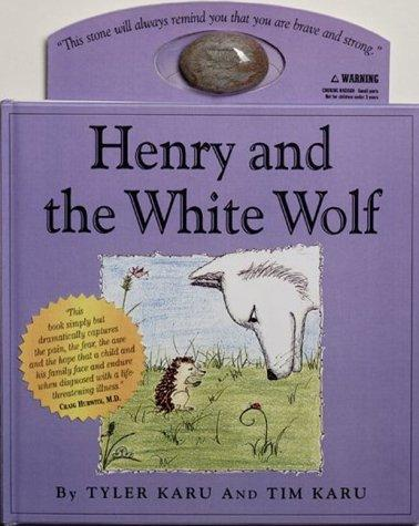 Book Cover, Henry And The White Wolf