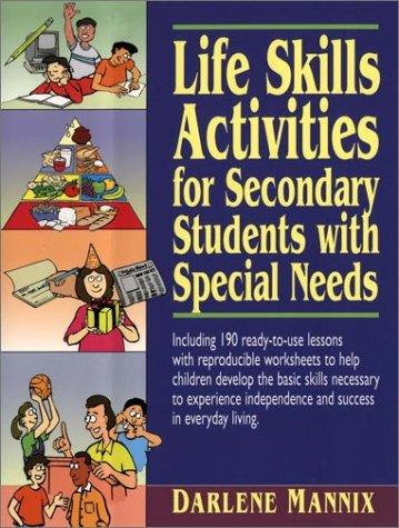 Book Cover, Life Skills Activities For Secondary Students With Special Needs