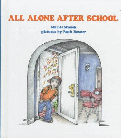 Book Cover, All Alone After School