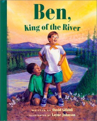 Book Cover, Ben, King Of The River