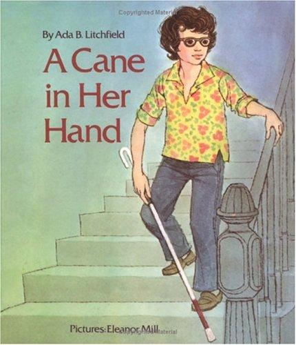 Book Cover, A Cane In Her Hand