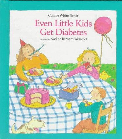 Book Cover, Even Little Kids Get Diabetes