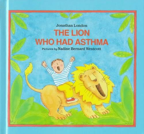 Book Cover, The Lion Who Had Asthma