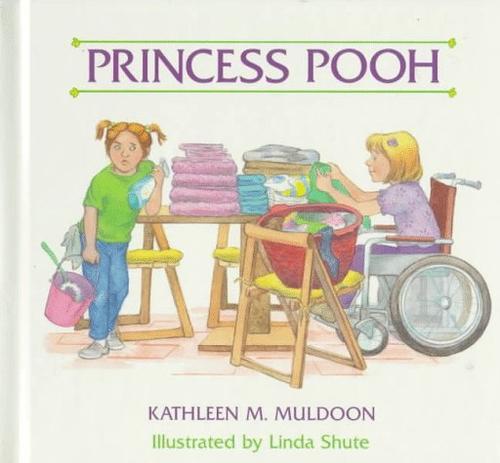 Book Cover, Princess Pooh
