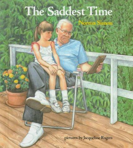 Book Cover, The Saddest Time