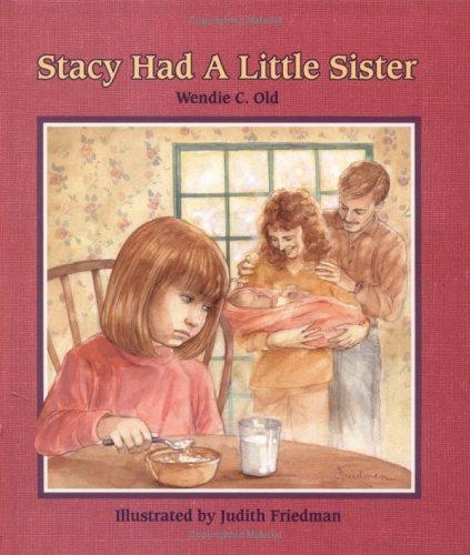 Book Cover, Stacy Had A Little Sister