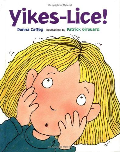 Book Cover, Yikes Lice!