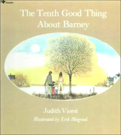 Book Cover, The Tenth Good Thing About Barney