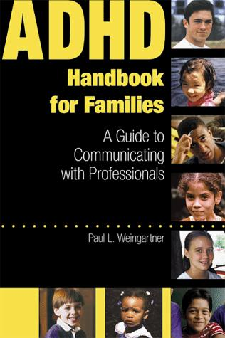 Book Cover, ADHD Handbook For Families