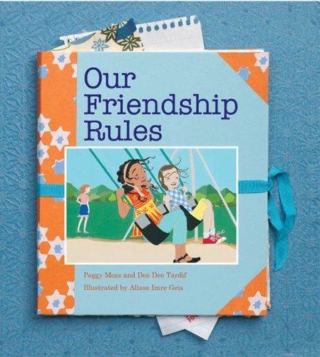 Book Cover, Our Friendship Rules