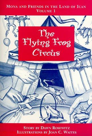 Book Cover, The Flying Frog Circus