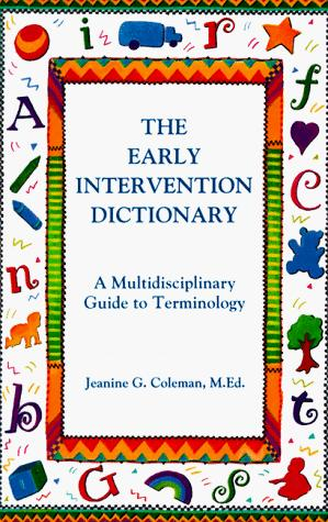 Book Cover, The Early Intervention Dictionary