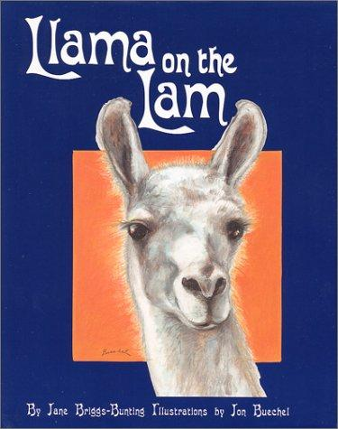 Book Cover, Llama On The Lam