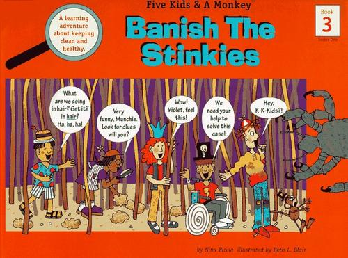 Book Cover, Banish The Stinkies