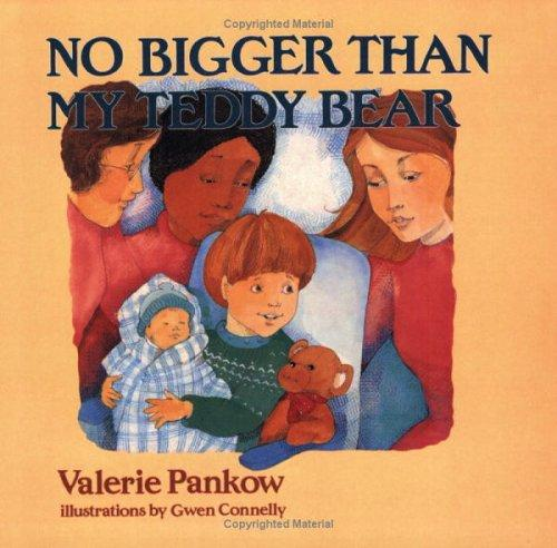 Book Cover, No Bigger Than My Teddy Bear
