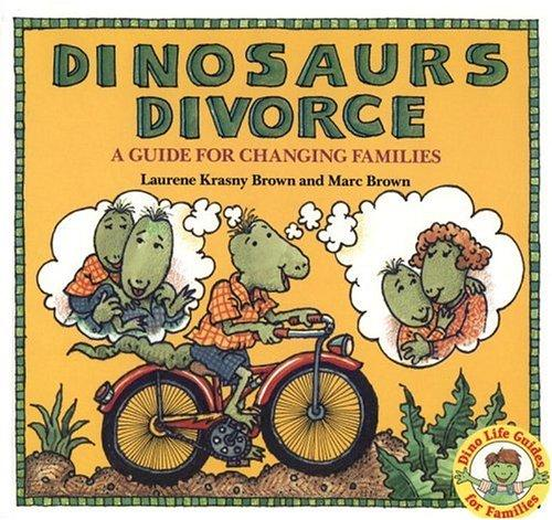 Book Cover, Dinosaurs Divorce: A Guide For Changing Families