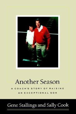 Book Cover, Another Season, A Coaches Story Of Raising An Exceptional Son