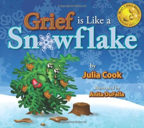 Book Cover, Grief Is Like A Snowflake