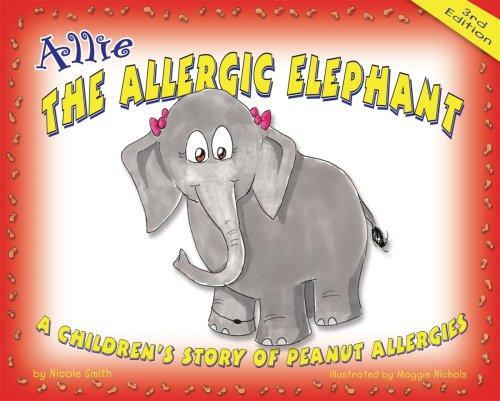 Book Cover, Allie The Allergic Elephant