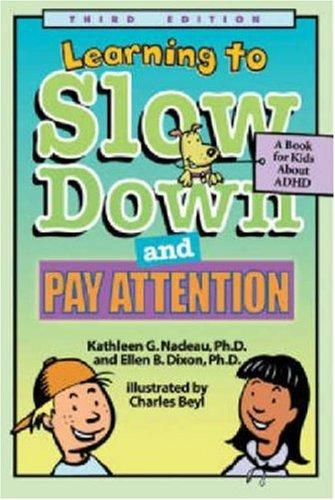 Book Cover, Learning To Slow Down And Pay Attention