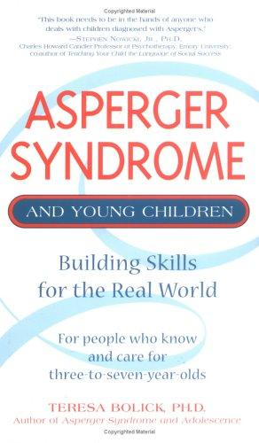 Book Cover, Asperger Syndrome And Young Children: Building Skills For The Real World