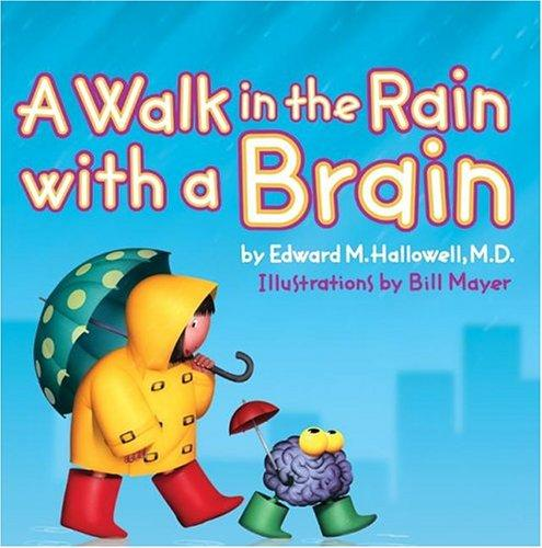Book Cover, A Walk In The Rain With A Brain