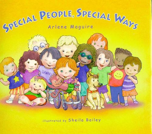 Book Cover, Special People, Special Ways