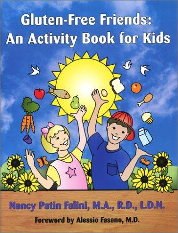 Book Cover, Gluten-Free Friends: An Activity Book For Kids