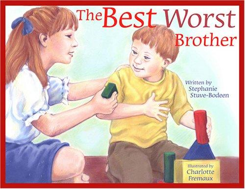 Book Cover, The Best Worst Brother