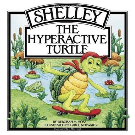 Book Cover, Shelley The Hyperactive Turtle