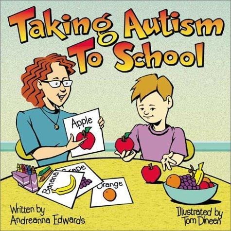Book Cover, Taking Autism To School