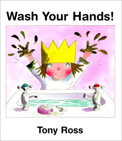 Book Cover, Wash Your Hands!