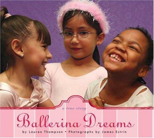 Book Cover, Ballerina Dreams