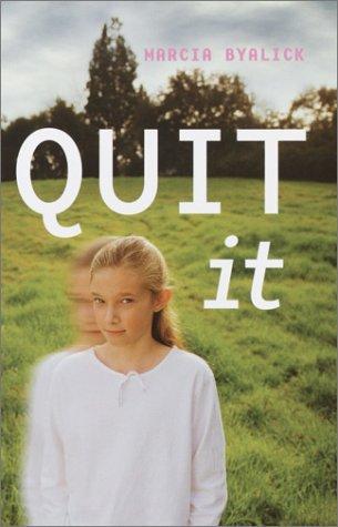 Book Cover, Quit It
