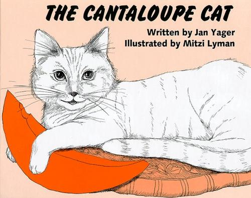 Book Cover, The Cantaloupe Cat