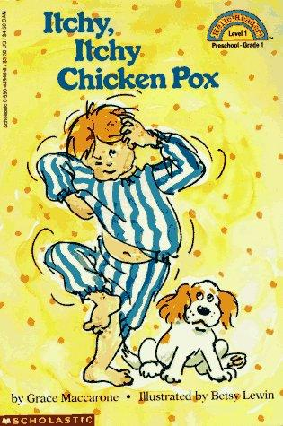 Book Cover, Itchy Itchy Chicken Pox