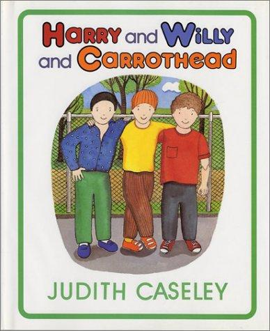 Book Cover, Harry And Willy And Carrothead