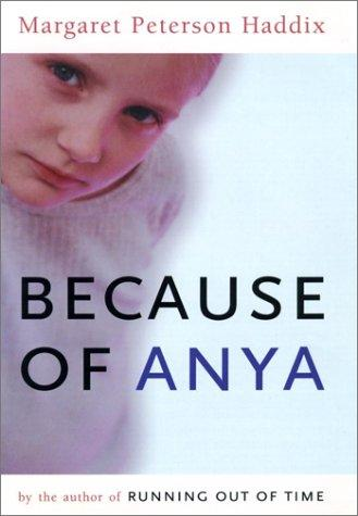 Book Cover, Because Of Anya