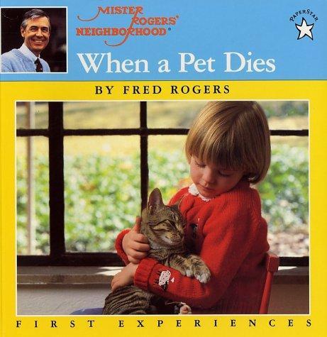 Book Cover, When A Pet Dies